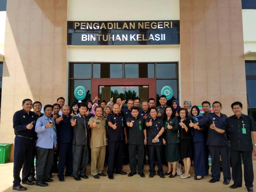 Pembinaan dan Pengawasan Pengadilan Tinggi Bengkulu