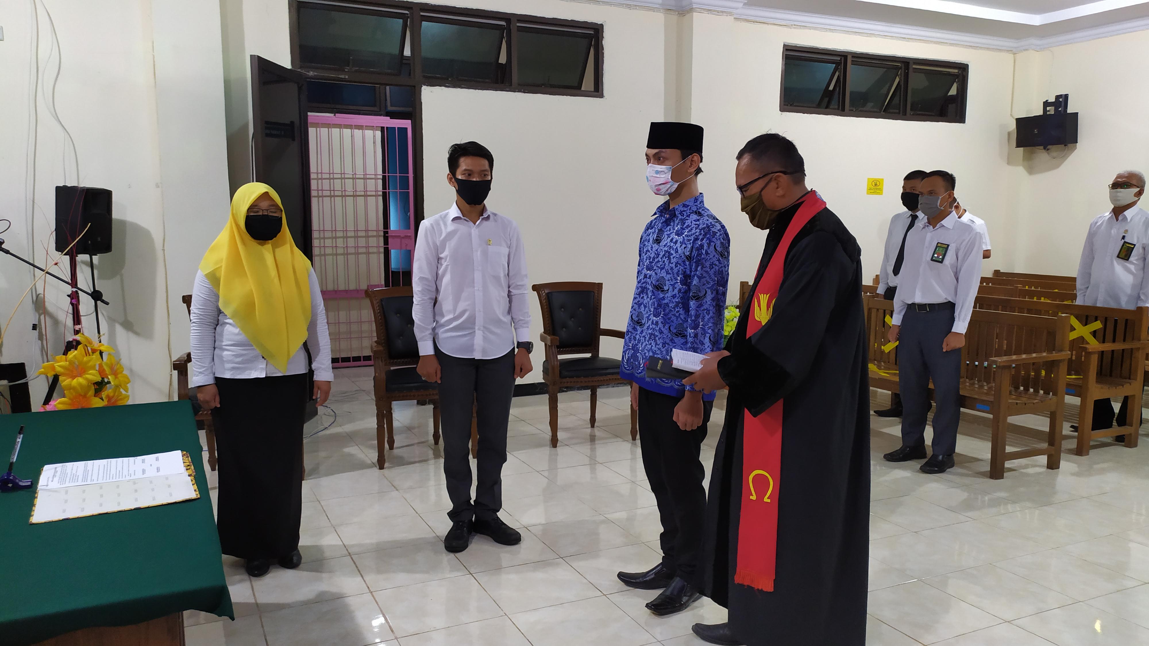 Pengambilan Janji Pegawai Negeri Sipil (PNS) Pengadilan Negeri Bintuhan