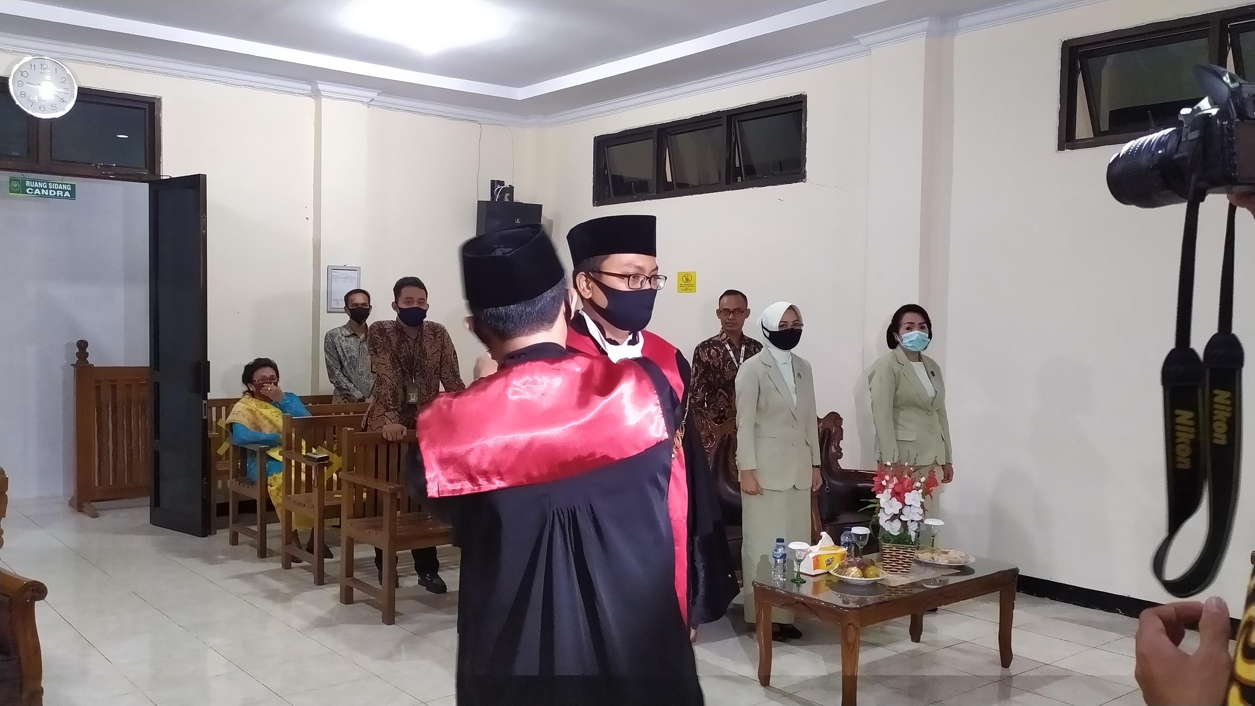 Pelantikan dan Pengambilan Janji Wakil Ketua Pengadilan Negeri Bintuhan
