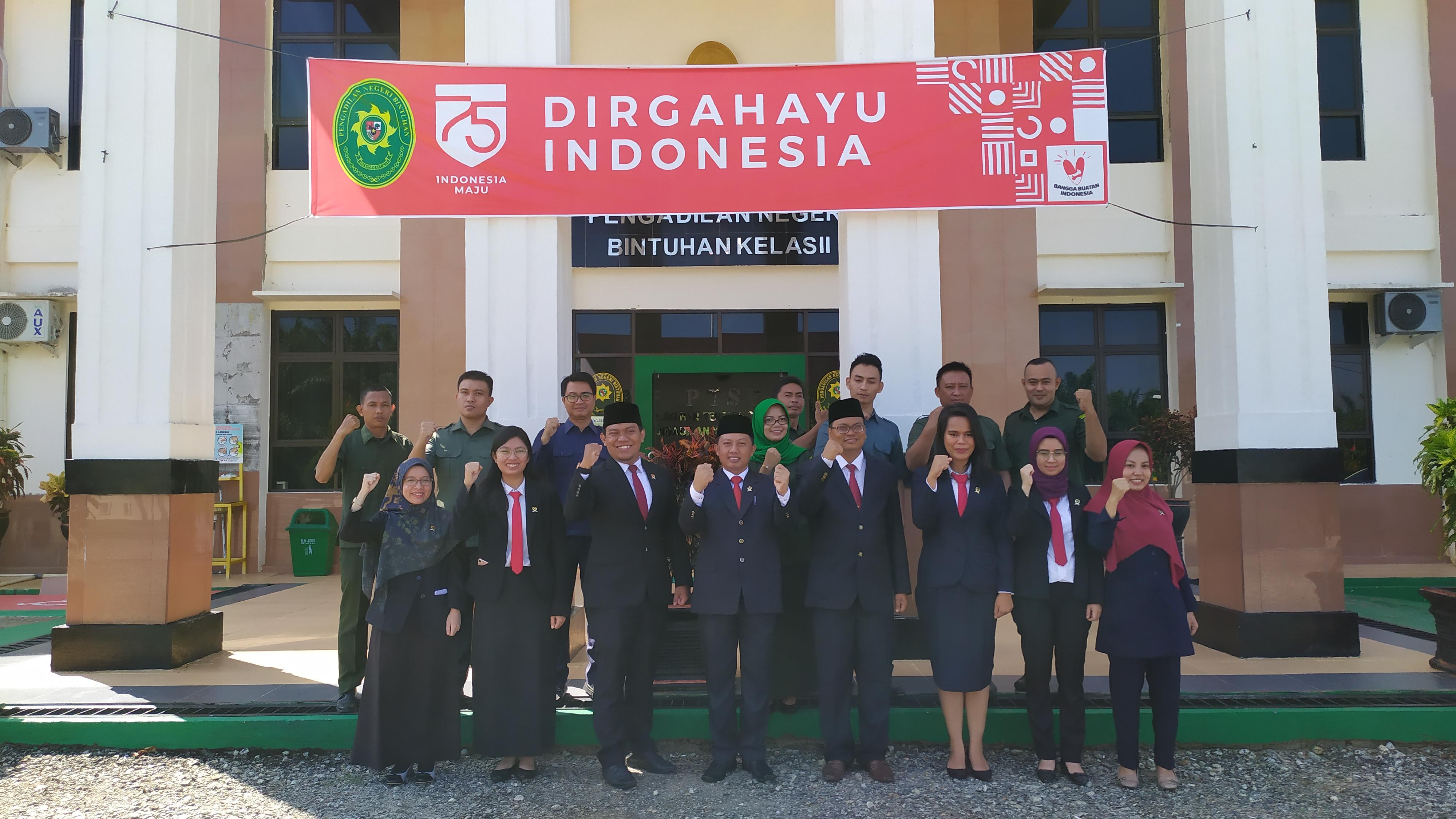 Peringatan HUT Republik Indonesia Ke – 75 Tahun