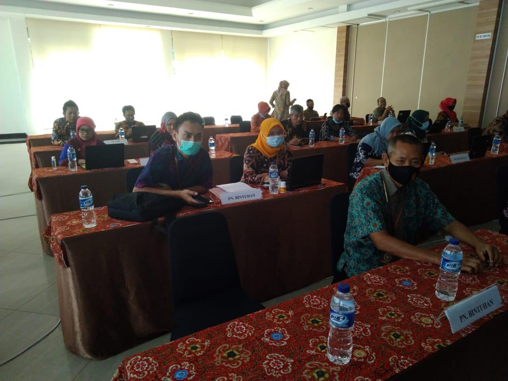 Bimbingan Teknis Keuangan Pengadilan Negeri Bintuhan