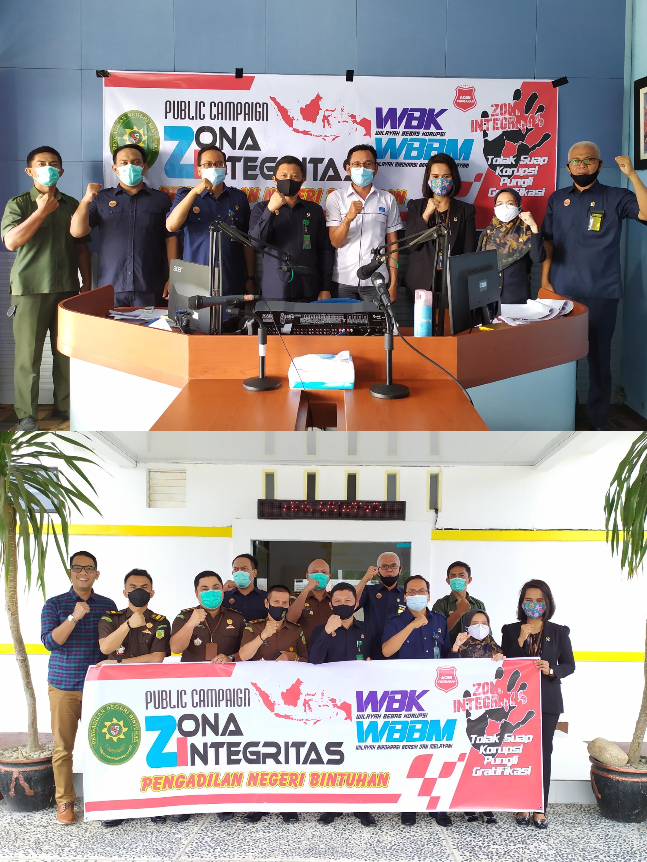 Kegiatan Public Campaign Pengadilan Negeri Bintuhan