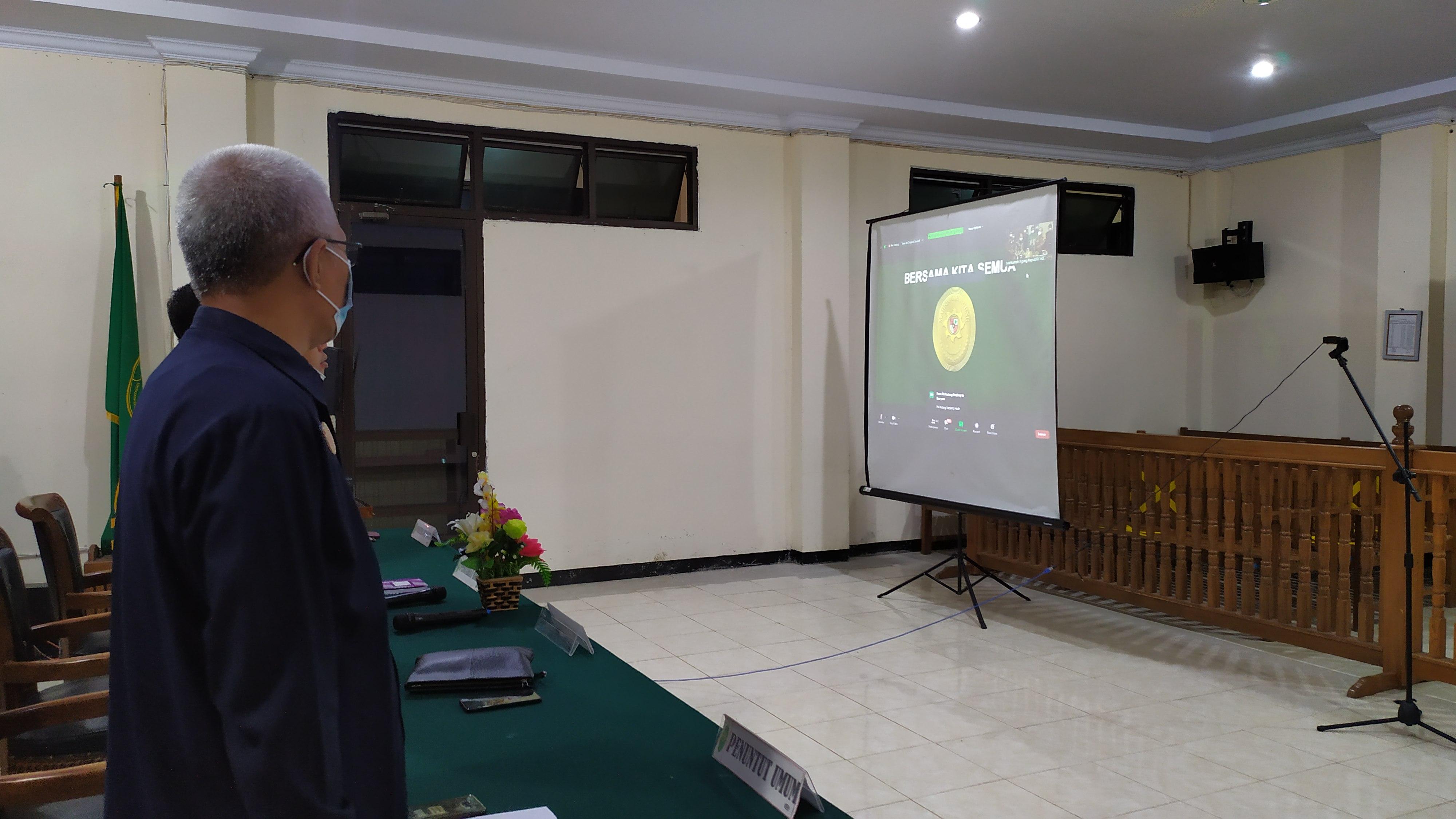 Pembinaan Bidang Teknis dan Administrasi Yudisial Oleh Ketua Mahkamah Agung RI