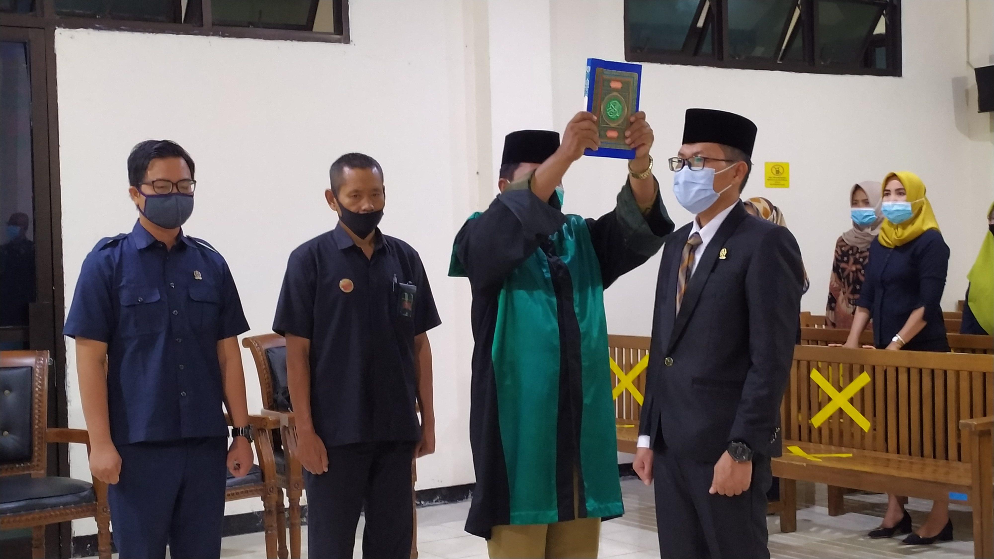 Pelantikan dan Pengambilan Sumpah Jabatan Panitera Muda Hukum Pengadilan Negeri Bintuhan