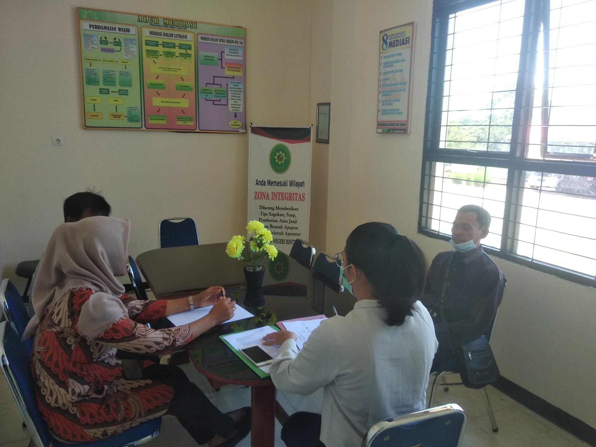Proses Mediasi oleh Mediator Pengadilan Negeri Bintuhan