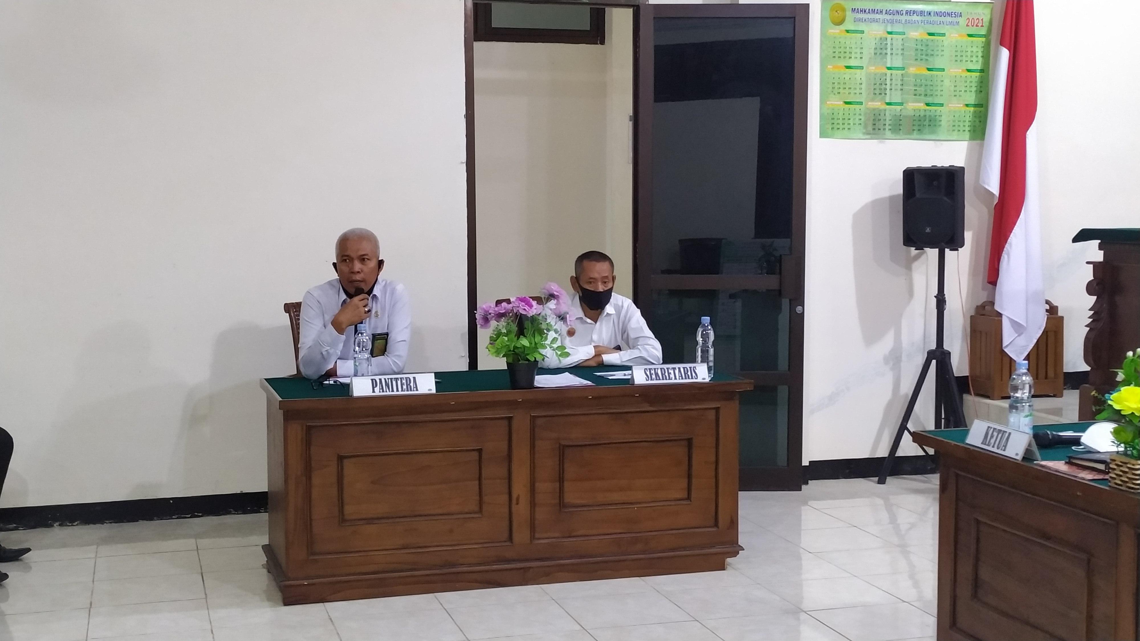 Bimbingan administrasi Pengisian LHKPN dan LHKASN Tahun 2021