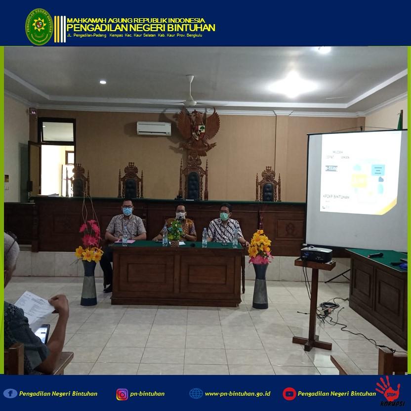 Kegiatan Sosialisasi Laporan Tahunan SPT tahun 2020 oleh KP2KP Bintuhan
