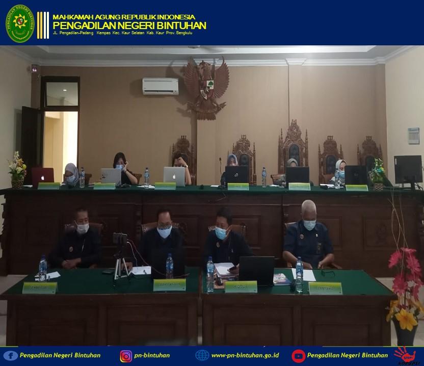 Kegiatan Entry Meeting – Desk Evaluation Penilaian Mandiri Pembangunan Zona Integritas (PMPZI) Menuju Wilayah Bebas dari Korupsi (WBK)