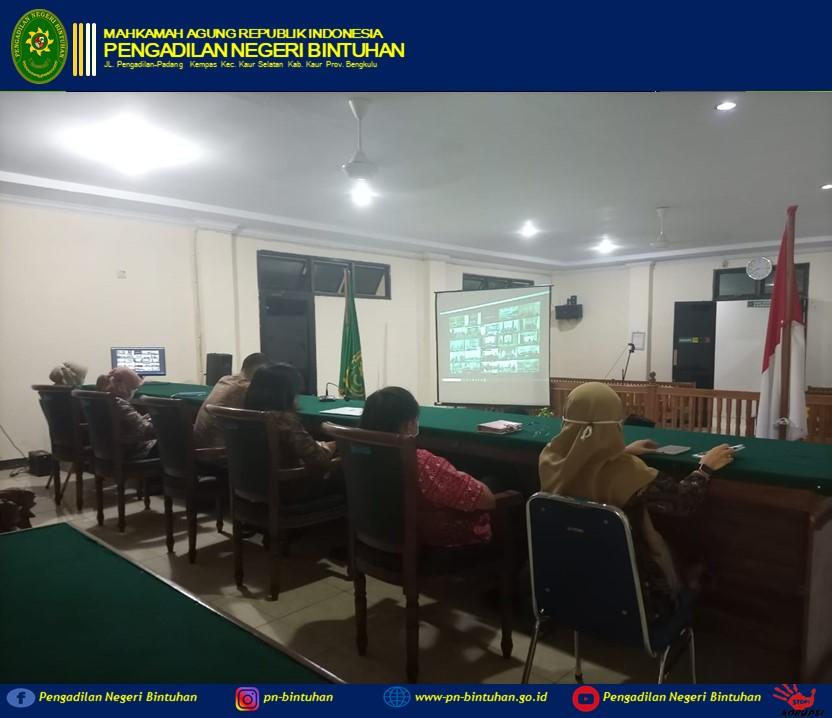 Pembinaan Teknis dan Administrasi Yudisial oleh Pimpinan Mahkamah Agung RI Bapak Dr. H. M. Syarifuddin, S.H., M.H.,
