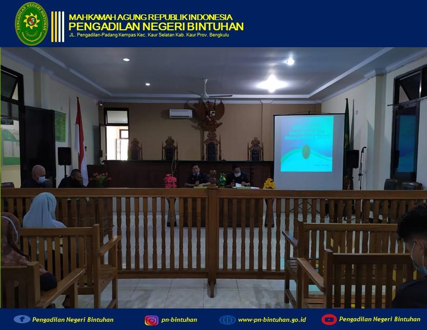 Dilaksanakan Rapat Bulanan, 19 April 2021